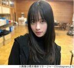 """【女優】橋本環奈 """"奇跡の一枚""""は「いまだにあの写真の良さがわからない。1ミリも」"""