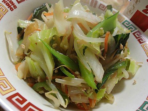 炒め ウェイパー 野菜 野菜炒めの作り方