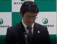 原子力規制庁会見ン