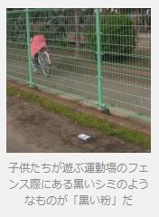 24万Bqという高濃度の黒い粉が東京でも見つかった     日刊SPA