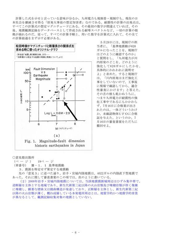 パブリックコメント広瀬隆6