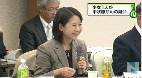 福島、少女1人が甲状腺がんの疑い2
