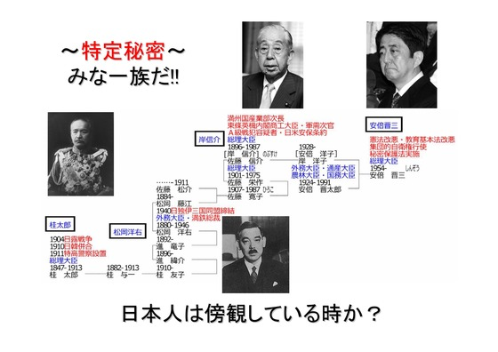 緊急!! 特定秘密保護法案を閣議決定7