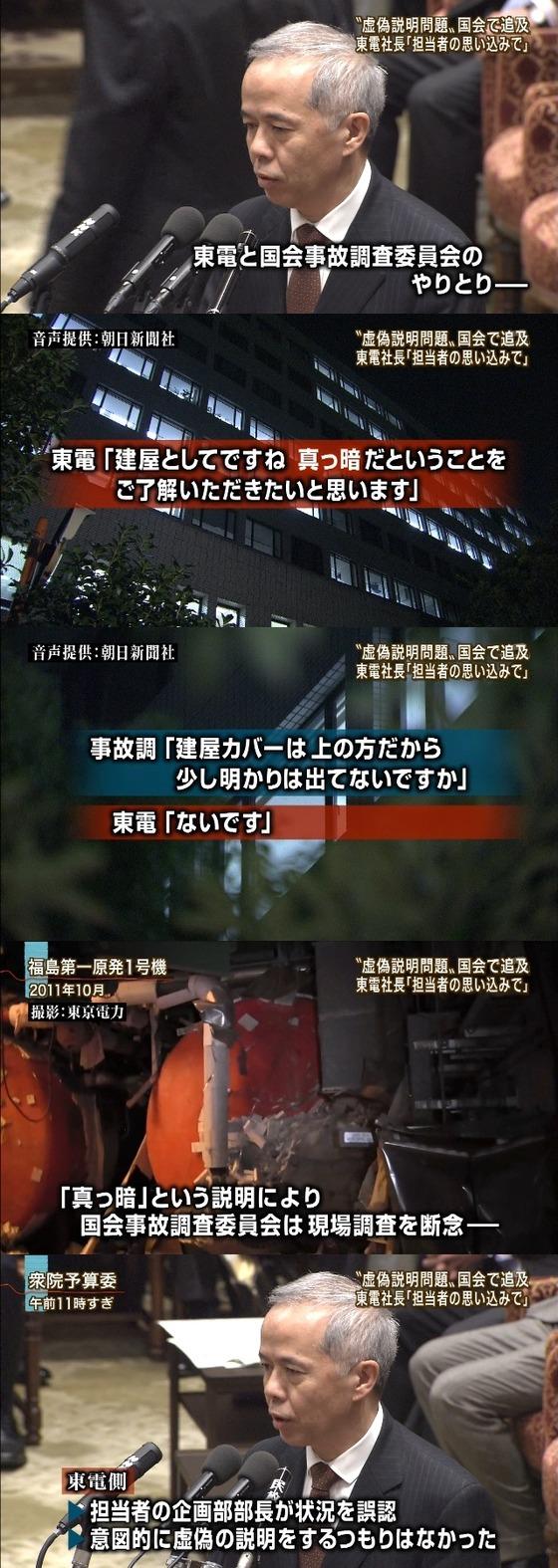 東電社長「担当者の思い込み」3