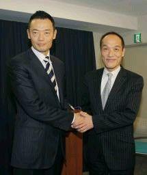 中田宏氏と東国原英夫氏