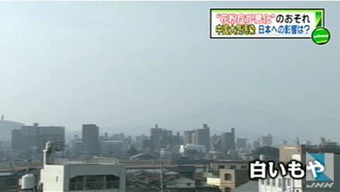 """中国大気汚染、日本で""""花粉症悪化""""も3"""