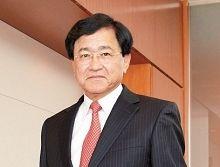 三菱ケミカルホールディングスの小林喜光社長