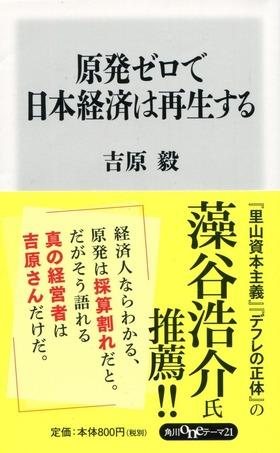 原発ゼロで日本経済は再生する