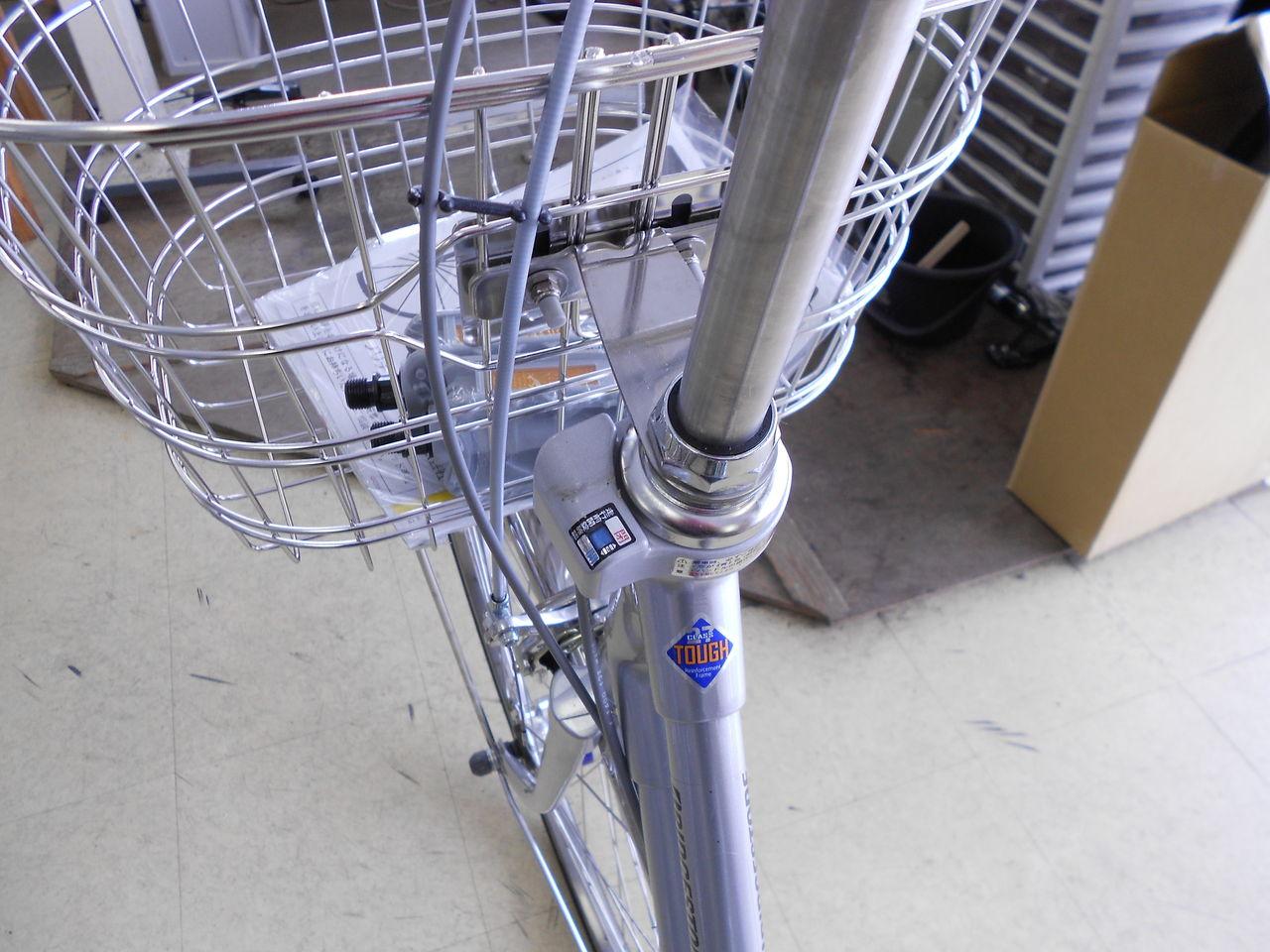 自転車の 自転車 ハンドルロック 修理 : 後ろのカギと、ハンドルロック ...