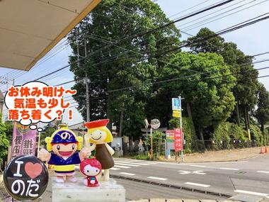 お休み明けな野田市20170215
