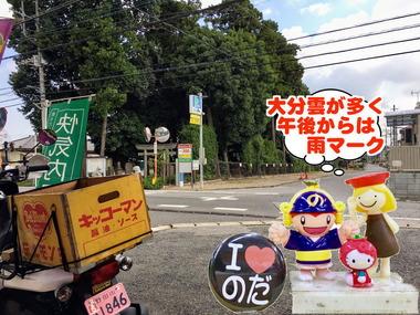お天気下り坂な野田市20170215
