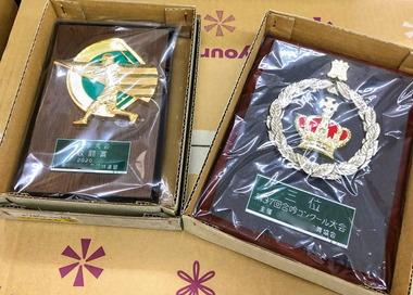 トロフィ・カップ・メダル