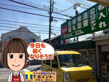 野田市の暑い天気