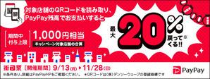 街のペイペイ祭り:サラダ館野田花井店