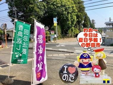 真夏日の野田市2018