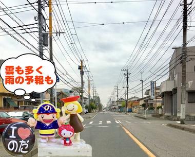 雲りな野田市パナソニックオープン