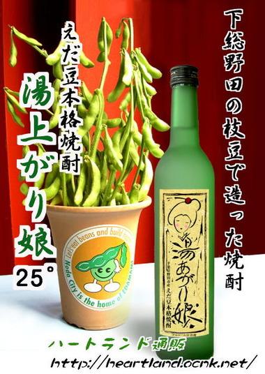 野田市の枝豆のお酒