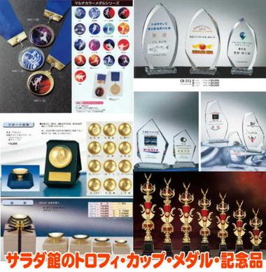 野田市のトロフィ・カップ・メダル販売店
