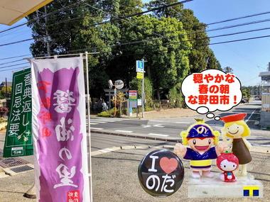 穏やかな春の野田市2018