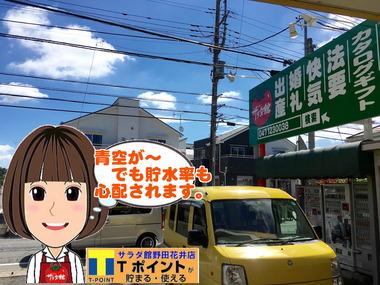 野田市のお天気情報