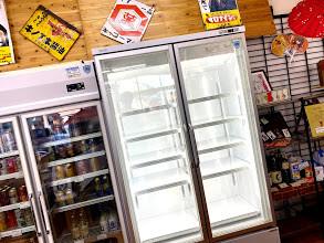 新型冷凍庫がやってきた