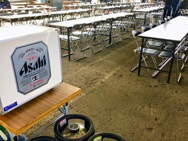 生ビールサーバーレンタルの準備