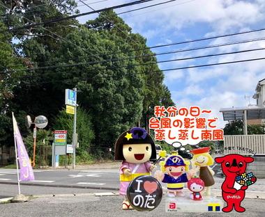 秋分の日2019な野田市