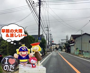 涼しい夏の野田市20170215