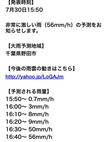 野田 市 天気 予報