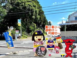 暑い夏の野田市