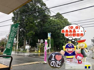 雨の野田市2018