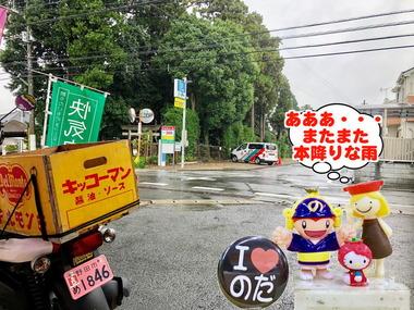 野田市に本降りな雨が20170215