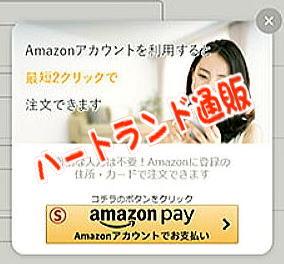 Amazonpayのハートランド通販
