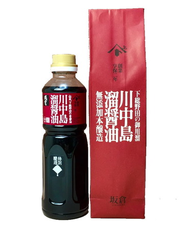 川中島溜り醤油500