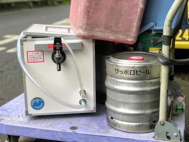 生ビールサーバーレンタル・黒ラベル樽生