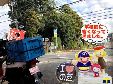 寒くなってきた野田市20170215