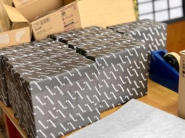 キッコーマン弔事用包装紙