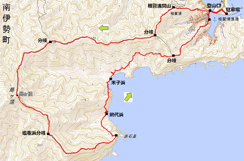 184 局ヶ頂・相賀浦より