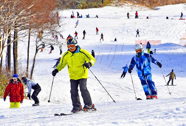 箕輪スキー場2016-2017