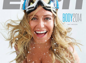 ESPN BODY ISSUE 2014の表紙