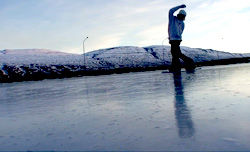 Gulli Gudmundsson&Einar Stefansson アイスリンクセッション
