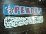 PEACE Snowboardsデリバリースタート!!