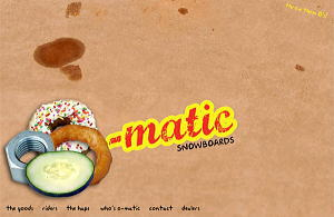 O-Matic Snowboards official site
