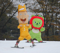 スキー100周年で、キャラクターも初滑り=長野