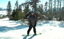 トップサーファーAndy Ironsのスノーボーディング