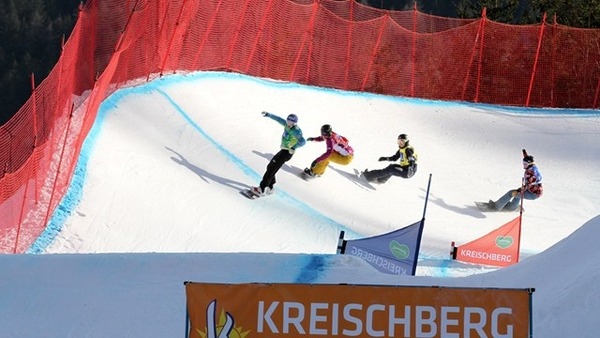Heat 3 ladies - SBX Finals Kreischberg WCS