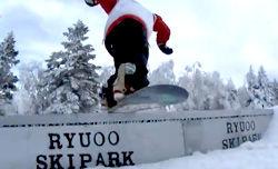 2010/2011 スノーボードIKENOCITY Vol.2 竜王スキー場でグラトリ&Box
