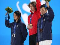 ソチ五輪で表彰台に日本人2人が上がったスノーボードハーフパイプ