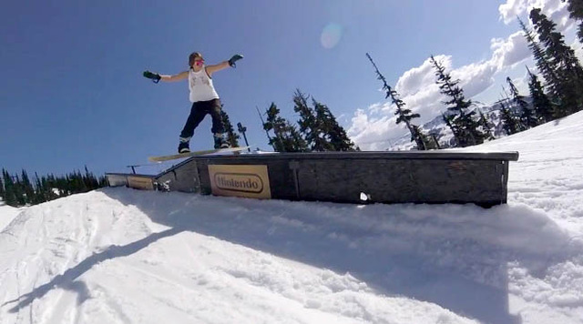 Blackcomb spring shred 2016