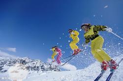 10年で中国のスキー人口は1000万人に激増した。